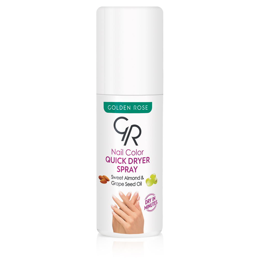 Golden Rose NAILS QUICK DRY Nail Color Quick Dryer Spray